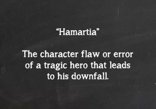What is a tragic flaw? What is the tragic flaw of Hamlet and is he destroyed by it?