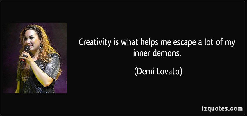 Quotes About Your Demons: Quotes About Inner Demons. QuotesGram