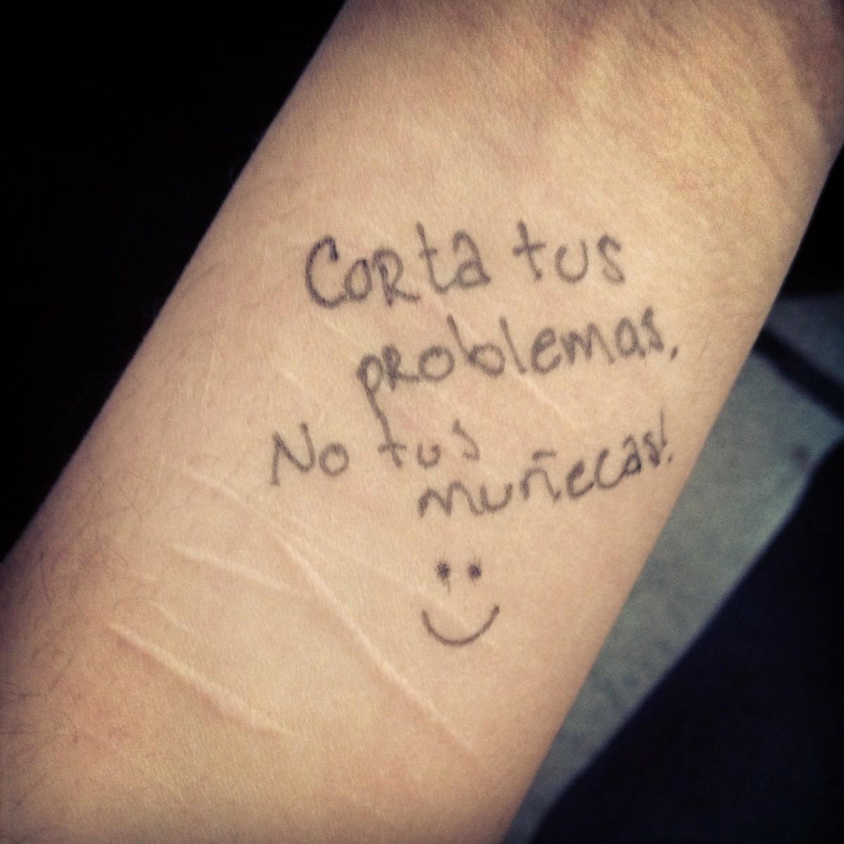 Cutting Wrists Quotes Quotesgram
