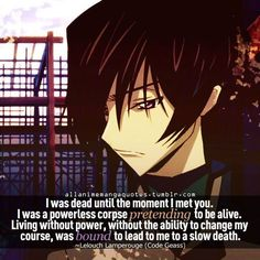 Anime Quotes About Pain. QuotesGram