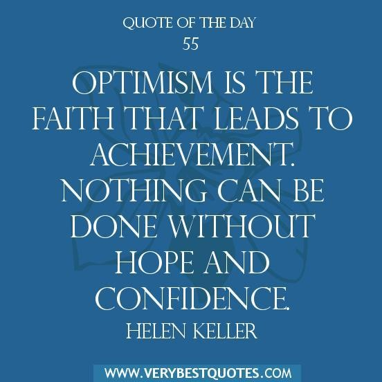 Positive Inspirational Quotes Of The Day: Optimism Quotes From Famous People. QuotesGram