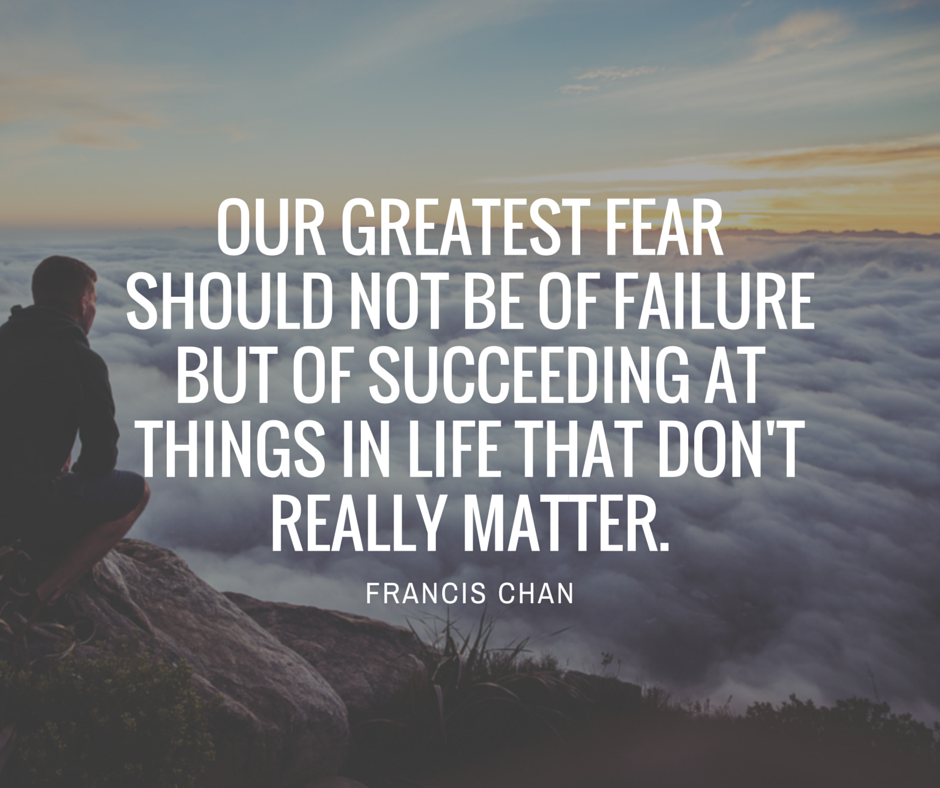 Inspirational Quotes About Failure: Fear Of Failure Quotes. QuotesGram