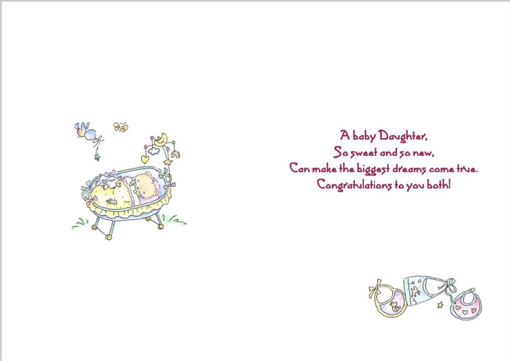 Baby Card Quotes. QuotesGram