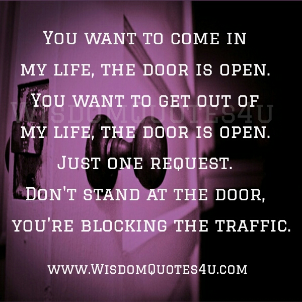 Out Of My Life Quotes. QuotesGram