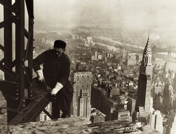 Empire State Building Quote: Inspiring Quotes By Lewis Hines. QuotesGram