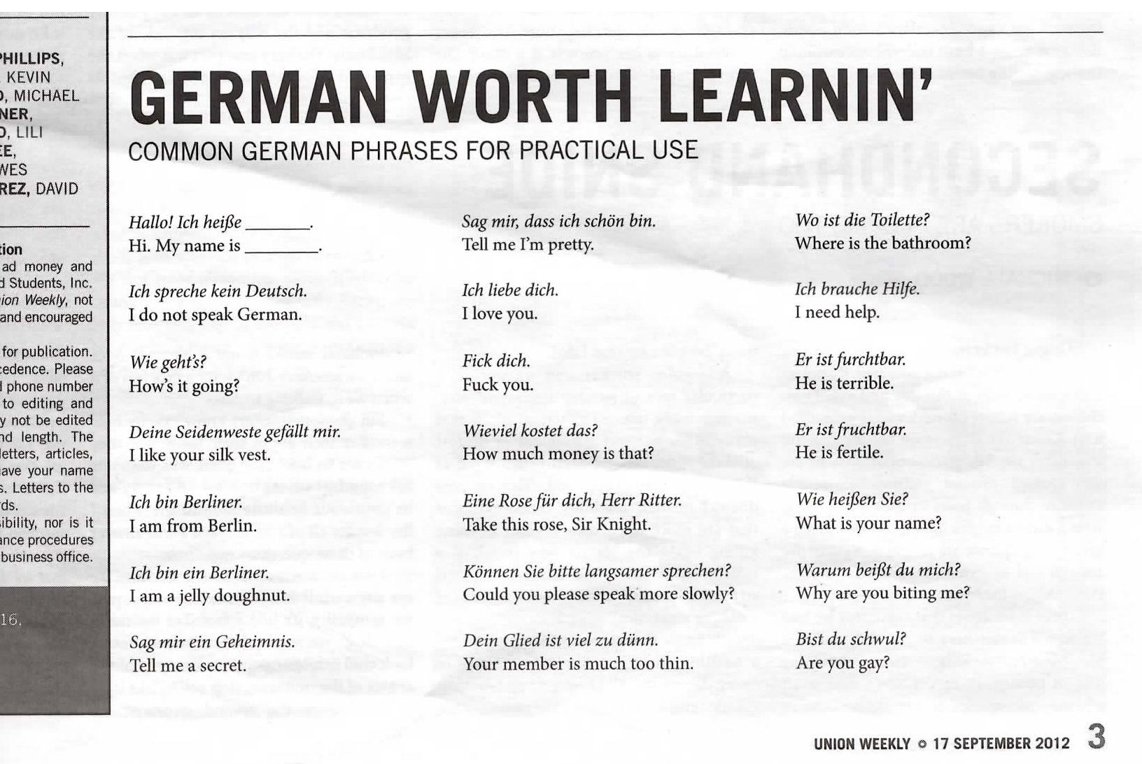 essay vocabulary german Learn german words and more german vocabulary and nouns in many categories with free german flash cards and the lingo dingo review game.