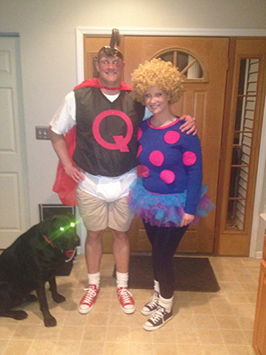 Quailman Quotes. QuotesGram Quailman And Patty Mayonnaise Costume