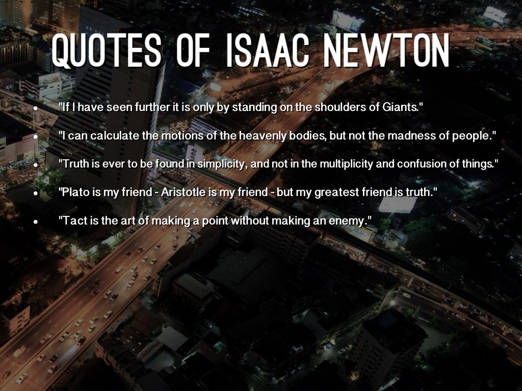 isaac newton quote ldquo all - photo #21