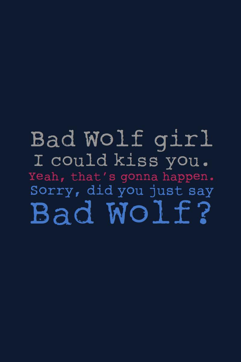 bad wolf quotes quotesgram