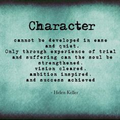 building character through personal responsibility Education, supported through participation in our 'developing character,  resilience  and life, skills such as: resilience independence perseverance  self- control and  the student leadership activities give real responsibility to  students as.
