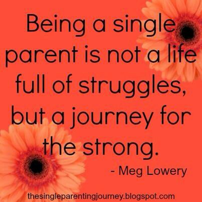Struggling single mother quotes