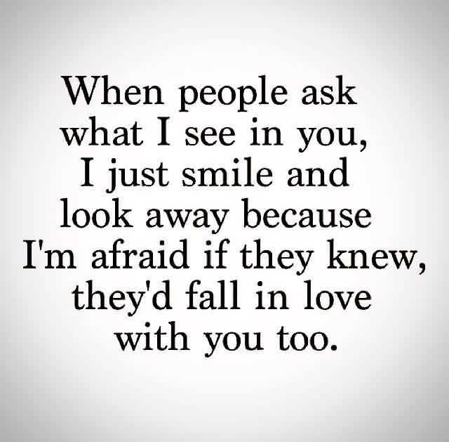 I Love You Quotes: I Just Smile Because Quotes. QuotesGram