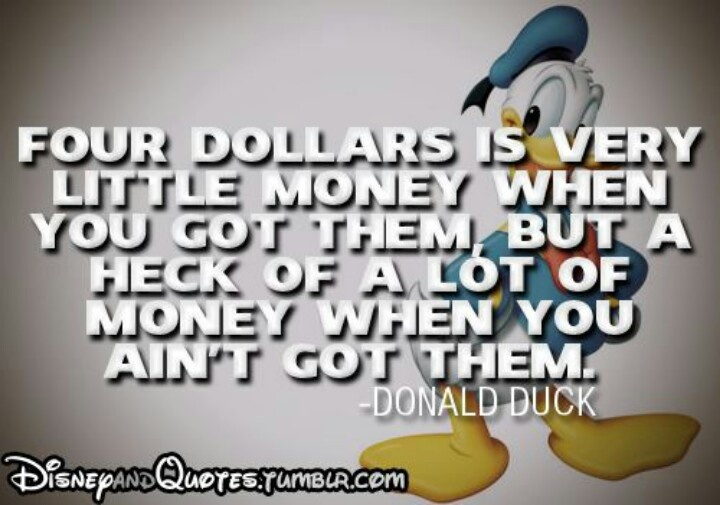 Donald Duck Sayings Quotes Quotesgram
