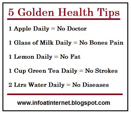 Health tips Cobess