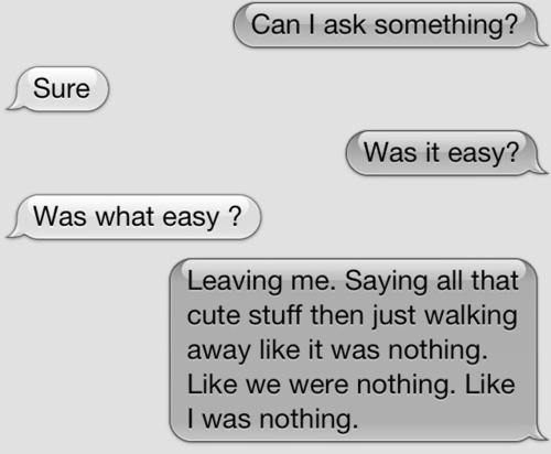 Text Break Up Quotes: Heartbreaking Quotes Texts. QuotesGram