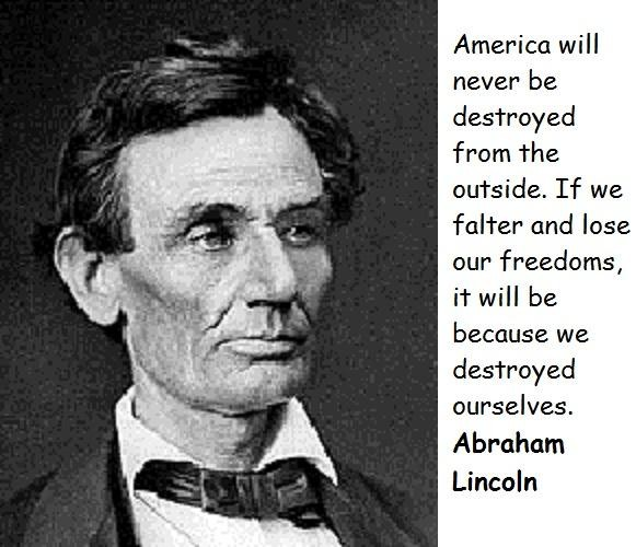 Abraham Lincoln Quotes On Slavery: Abe Lincoln Quotes On Slavery. QuotesGram