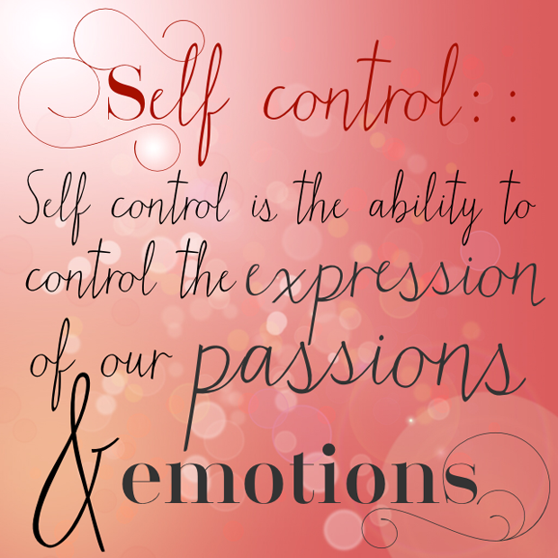 Self Control Quotes: Inspirational Quotes On Self Control. QuotesGram