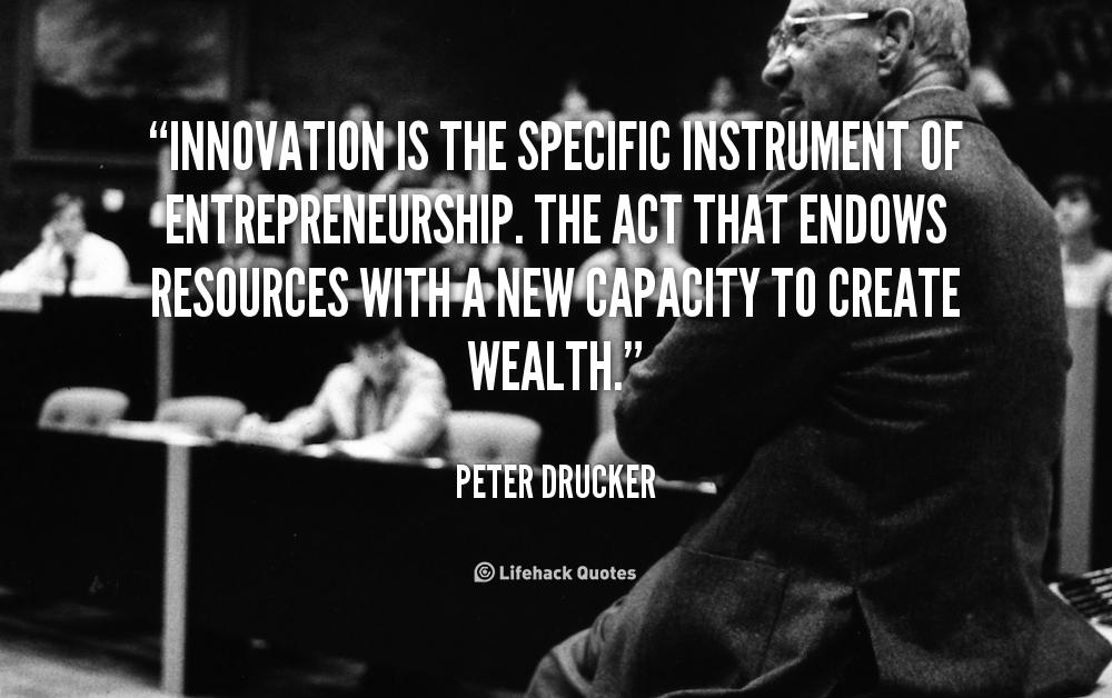 Innovative Classroom Quotes ~ Peter drucker quotes quotesgram