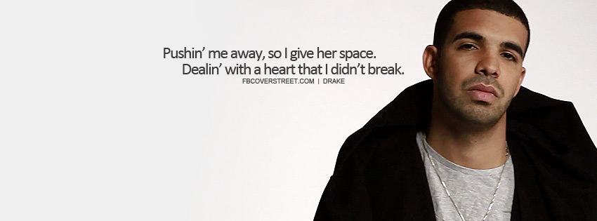 drake love quotes facebook covers quotesgram