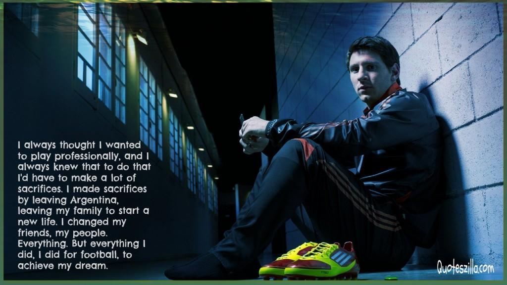 Quotes About Lionel Messi Soccer. QuotesGram
