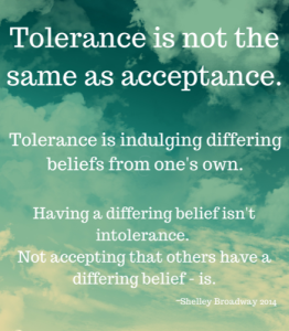 Tolerance Versus Acceptance Quotes Quotesgram