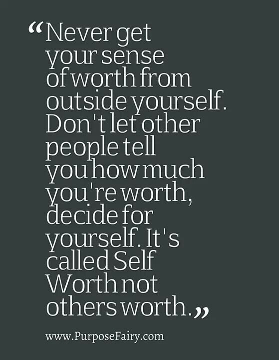 Self Worth Quotes And Sayings. QuotesGram