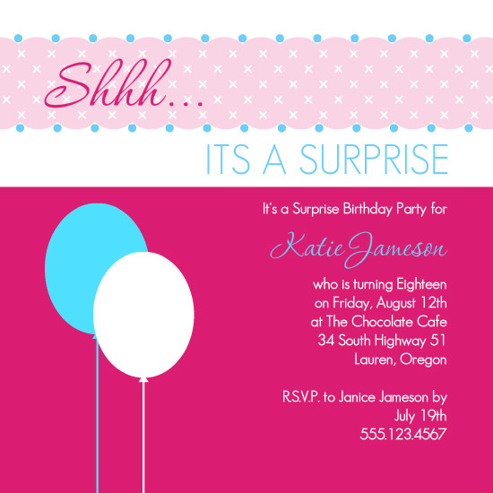 18th Birthday Quotes For Invitations. QuotesGram