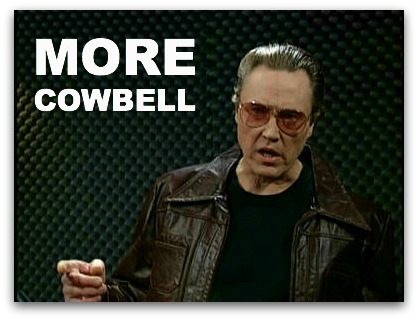Christopher Walken Cowbell Quotes. QuotesGram  |Christopher Walken Cowbell Quotes