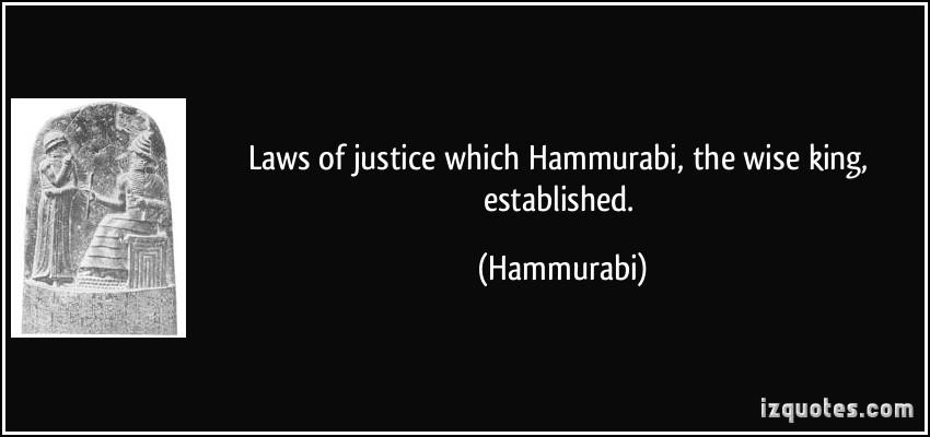 hammurabis code revenge or justice
