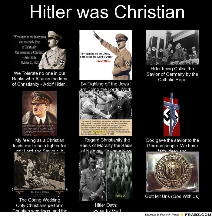 hitler anti christian quotes quotesgram