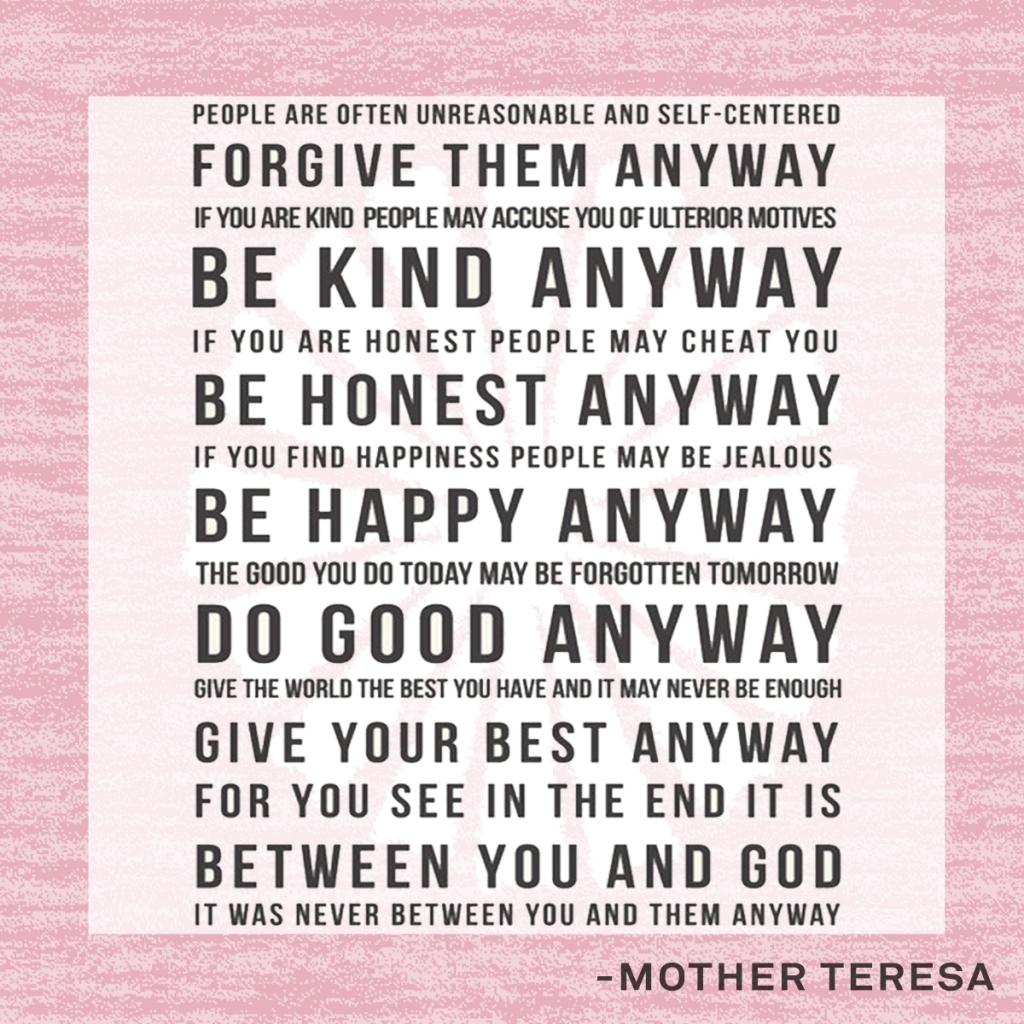 Sister Teresa Quotes: Mother Teresa Quotes And Poems. QuotesGram
