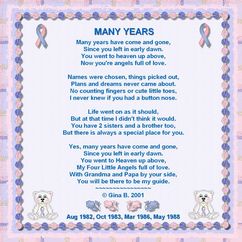 Pregnancy Loss Poems And Quotes. QuotesGram