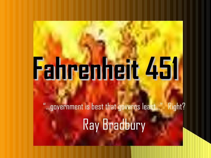 Symbolism Essay For Fahrenheit 451