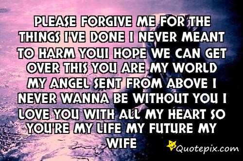 I Forgive You Quotes. QuotesGram