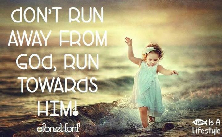 Running Away From God Quotes. QuotesGram
