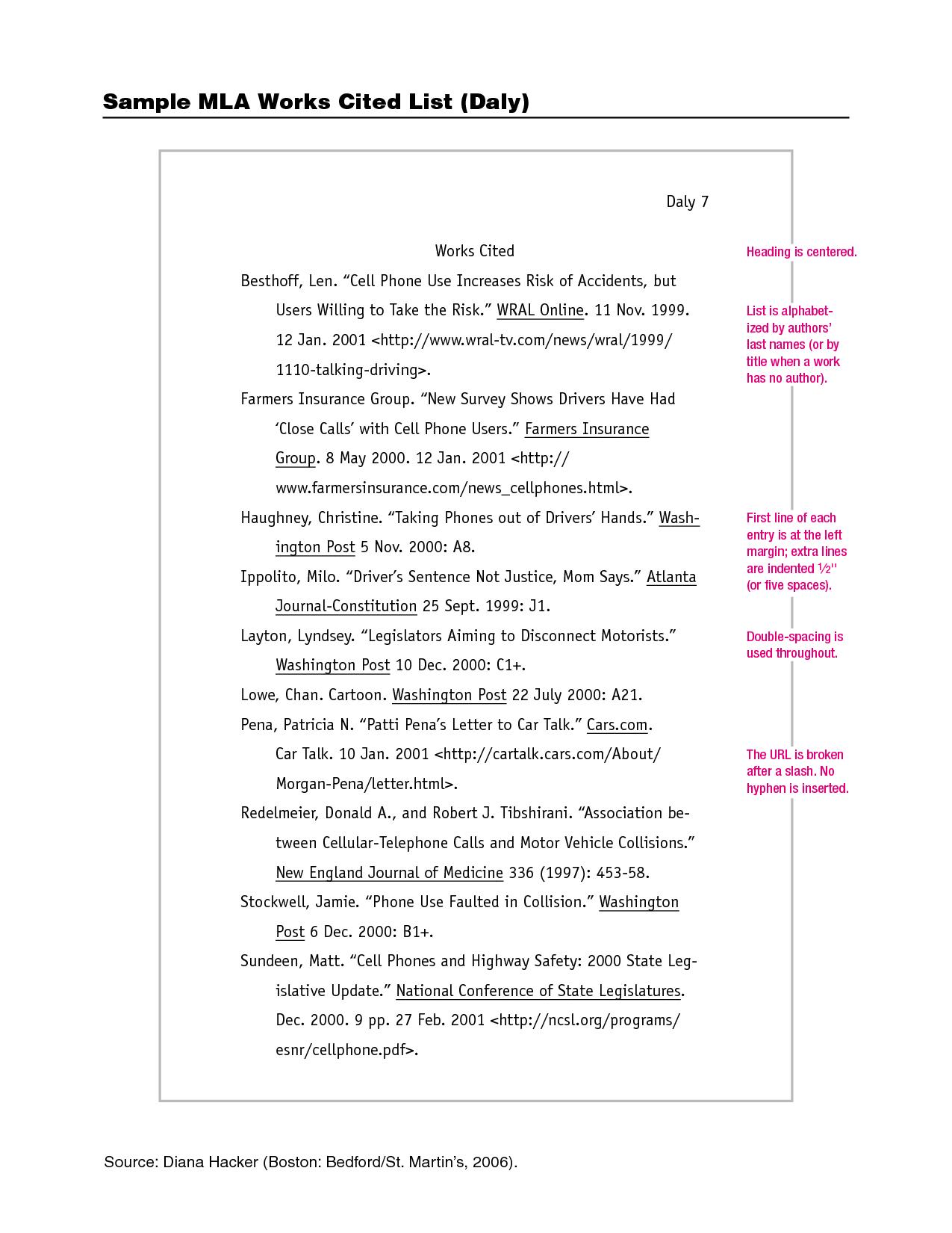 mla work cited quotes  quotesgram