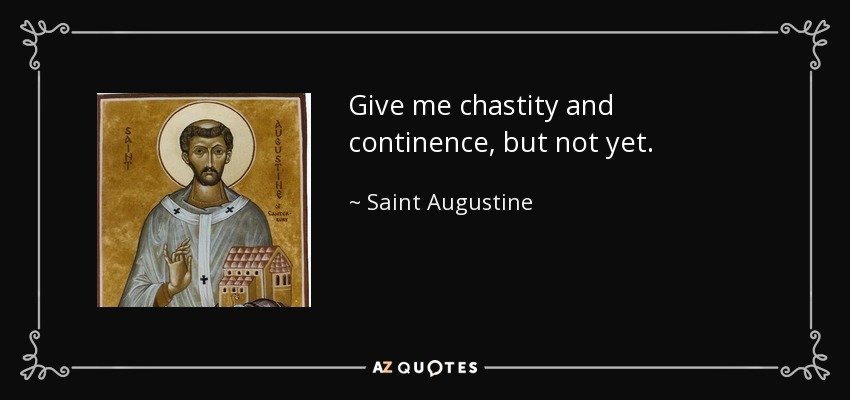 a biography of saint augustine and a discussion about his submissive view of women
