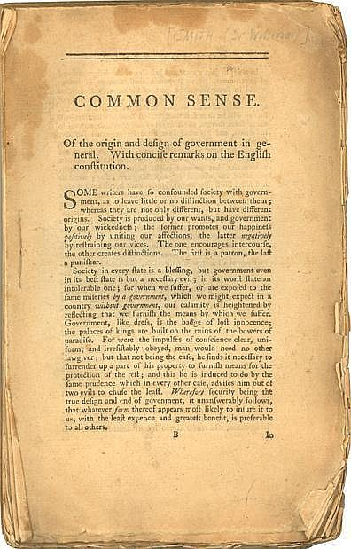 an analysis of thomas paines pamphlet common sense Read common sense by thomas paine l summary & study guide by bookrags with rakuten kobo this study guide includes the following sections: plot summary, chapter summaries &amp analysis, characters, objects/pl.