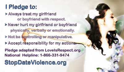 Dating abuse stops here