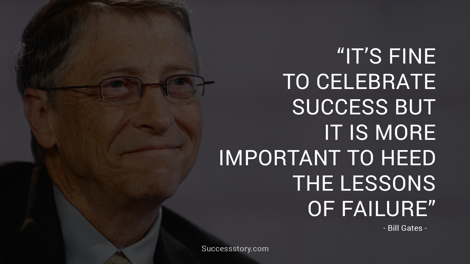 bill gates leadership quality Your goal should be to demonstrate the best qualities of a leader while  encouraging the same from those  bill gates, co-founder of microsoft.