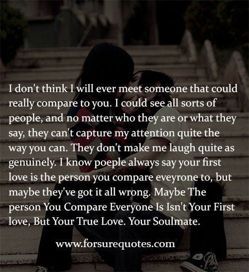 Short Sweet I Love You Quotes: Soul Mate Quotes For Her. QuotesGram
