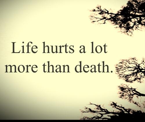 Sad Quotes About Suicide: Sad Quotes About Death. QuotesGram