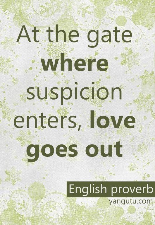Suspicion Quotes. QuotesGram