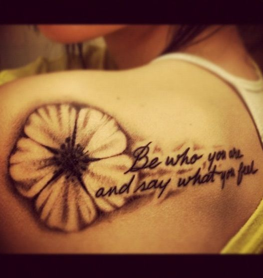 Flower Tattoos Quotes And Sayings Quotesgram: Tattoo Quotes About Blossoming. QuotesGram