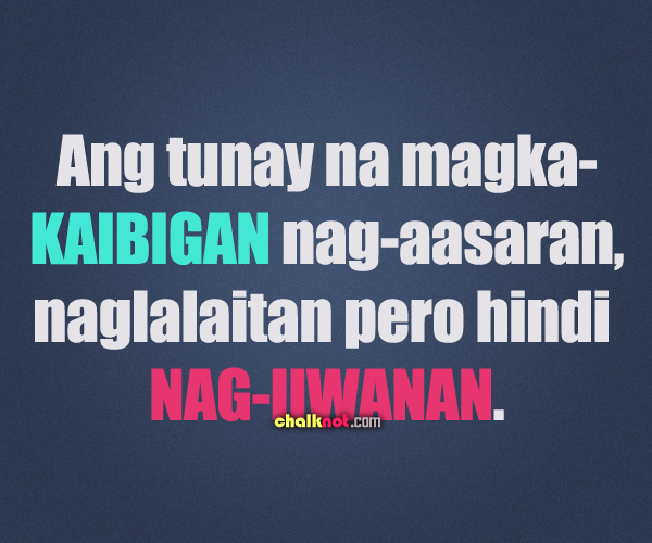 Quotes About Tagalog Friendship Inspiring Quotes For H...