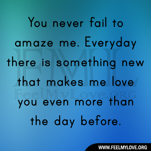 ... love you more everyday quotes quotesgram,Images I Love You More