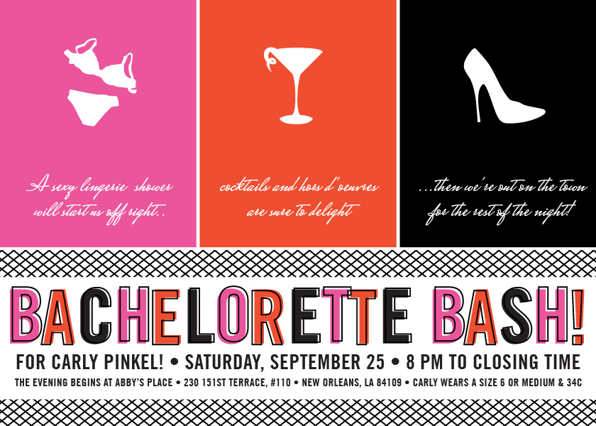 Invitations For Bachelorette Party was amazing invitation layout
