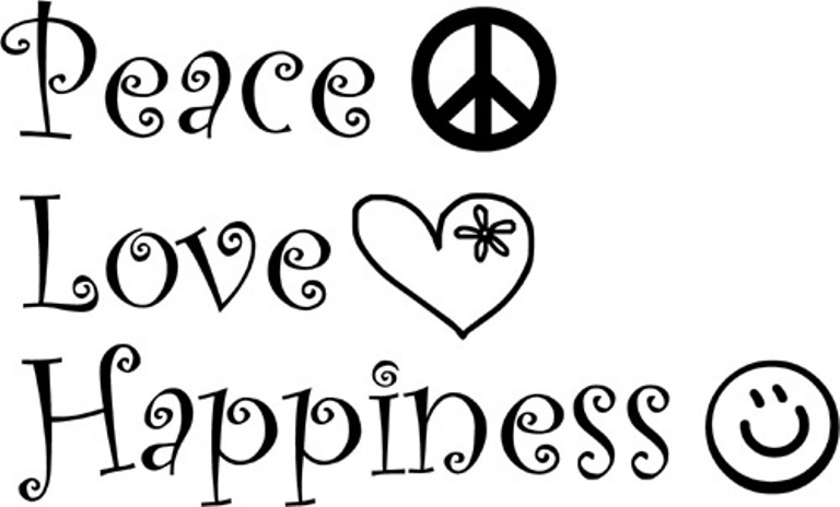 Peace Love Happiness Quotes Quotesgram