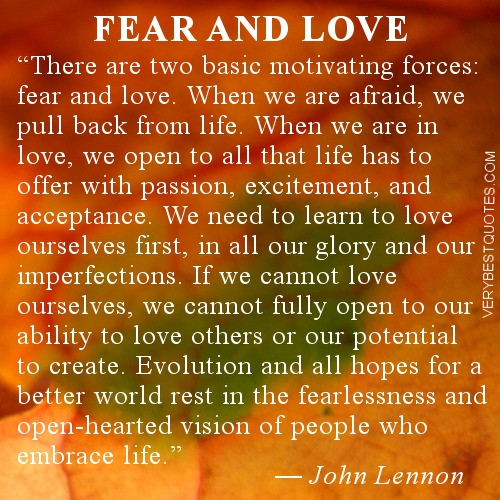 Quotes About Being In Love: Fear Of Being Loved Quotes. QuotesGram