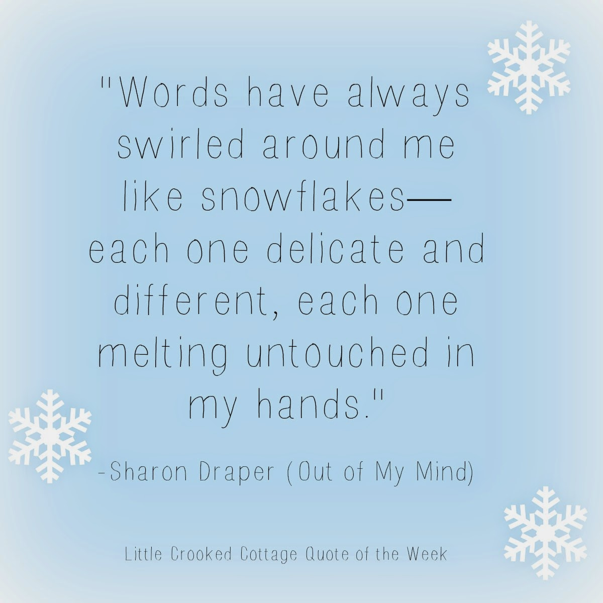 Quotes Of: My Mind Sharon Draper Out Of Quotes. QuotesGram